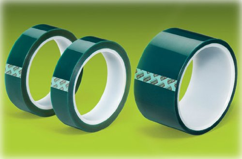 Green PET Tape with Silicone Adhesive