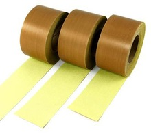 PTFE Coated Fabric Tape with Silicone Adhesive